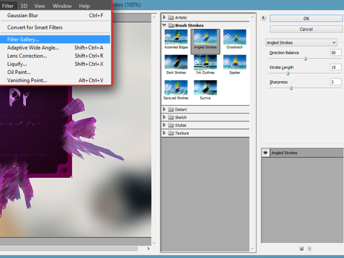 Photoshop Filter Gallery | Adams Digicom
